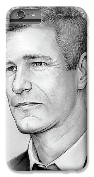 Knight iPhone 7 Plus Case - Aaron Eckhart by Greg Joens