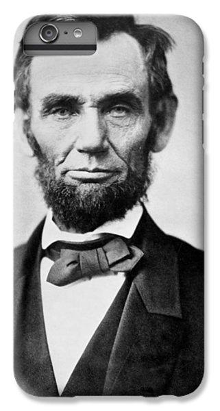 Abraham Lincoln -  Portrait IPhone 7 Plus Case by International  Images