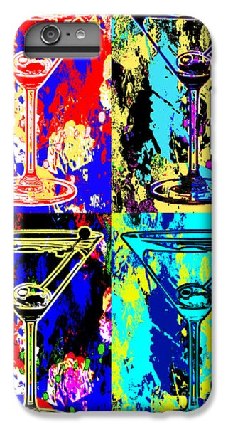 Abstract Martini's IPhone 7 Plus Case by Jon Neidert