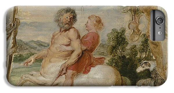 Achilles Educated By The Centaur Chiron IPhone 7 Plus Case by Peter Paul Rubens