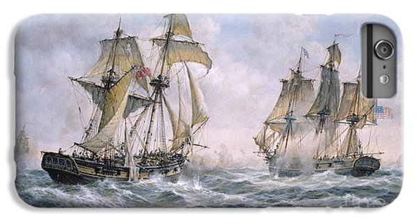 Ship iPhone 7 Plus Case - Action Between U.s. Sloop-of-war 'wasp' And H.m. Brig-of-war 'frolic' by Richard Willis