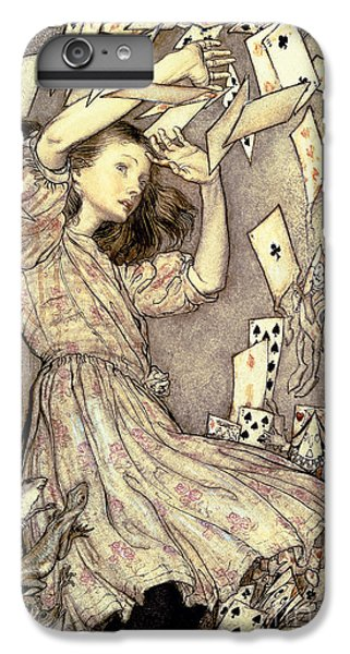Adventures In Wonderland IPhone 7 Plus Case by Arthur Rackham