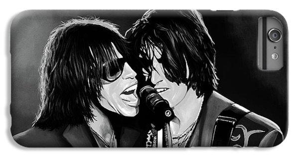 Aerosmith Toxic Twins Mixed Media IPhone 7 Plus Case by Paul Meijering
