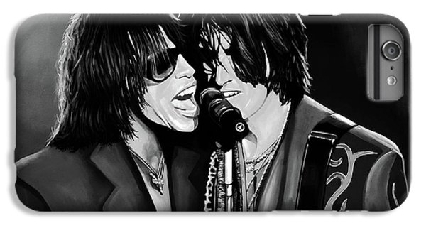 Aerosmith Toxic Twins Mixed Media IPhone 7 Plus Case by Paul Meijering