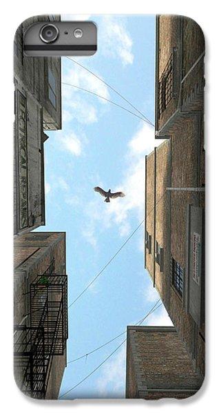 Hawk iPhone 7 Plus Case - Afternoon Alley by Cynthia Decker