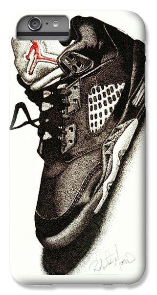 Air Jordan IPhone 7 Plus Case by Robert Morin