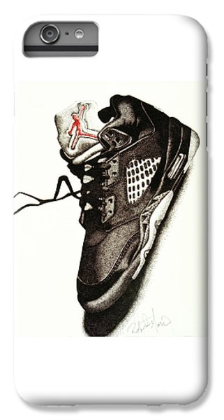 Athletes iPhone 7 Plus Case - Air Jordan by Robert Morin
