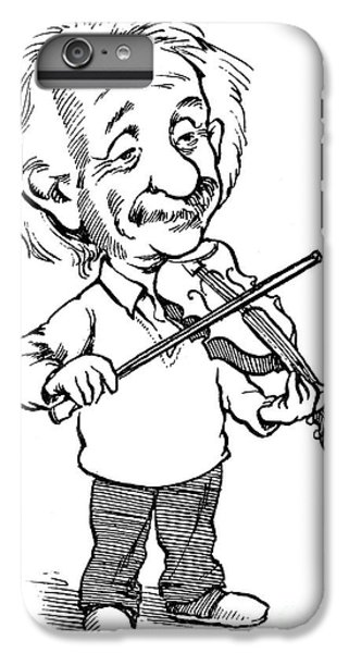 Violin iPhone 7 Plus Case - Albert Einstein (1879-1955) by Granger