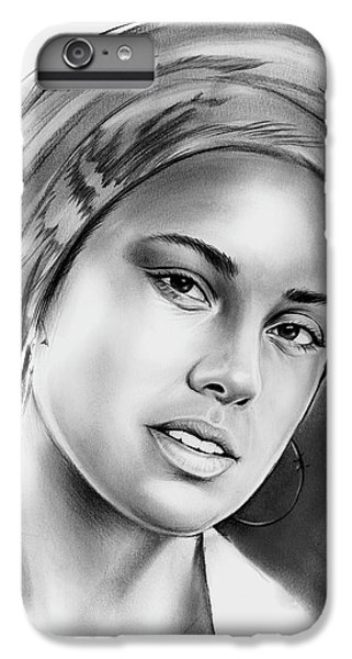 Rhythm And Blues iPhone 7 Plus Case - Alicia Keys 2 by Greg Joens