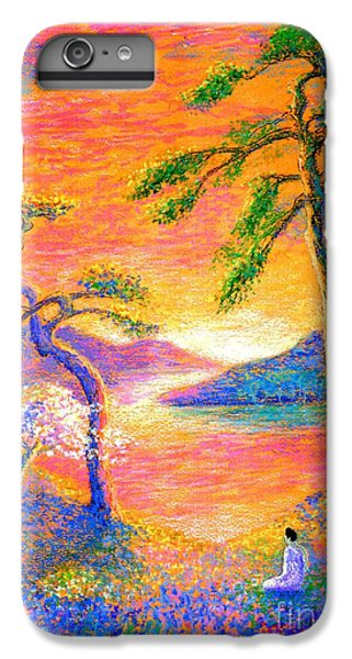 Buddha Meditation, All Things Bright And Beautiful IPhone 7 Plus Case by Jane Small