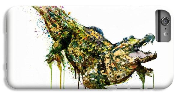 Alligator Watercolor Painting IPhone 7 Plus Case