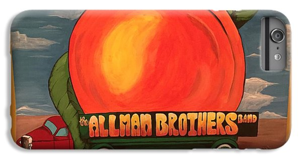 Peach iPhone 7 Plus Case - Allman Brothers Eat A Peach by Wes Beaver