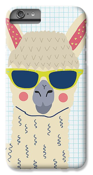 Alpaca IPhone 7 Plus Case by Nicole Wilson