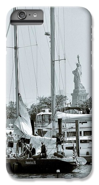 America II And The Statue Of Liberty IPhone 7 Plus Case by Sandy Taylor