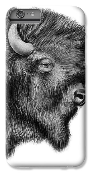 American Bison IPhone 7 Plus Case by Greg Joens