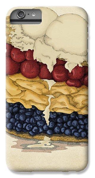 Blueberry iPhone 7 Plus Case - American Pie by Meg Shearer