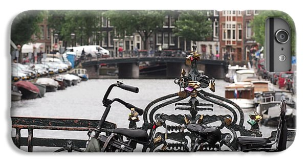 Amsterdam IPhone 7 Plus Case by Rona Black