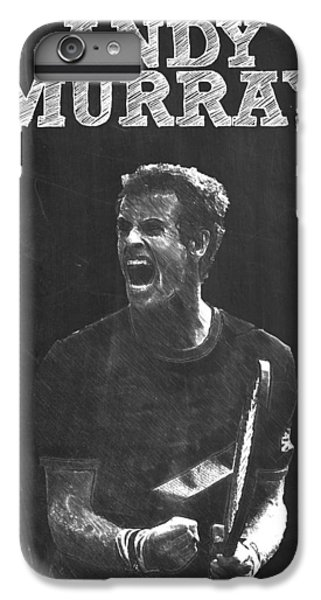 Andy Murray IPhone 7 Plus Case by Semih Yurdabak