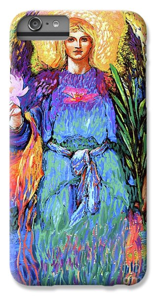 Lily iPhone 7 Plus Case - Angel Love by Jane Small