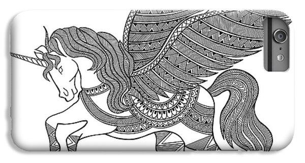 Unicorn iPhone 7 Plus Case - Animal Unicorn by Neeti Goswami