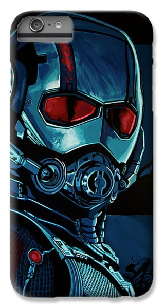 Ant Man Painting IPhone 7 Plus Case by Paul Meijering