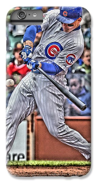 Anthony Rizzo Chicago Cubs IPhone 7 Plus Case by Joe Hamilton