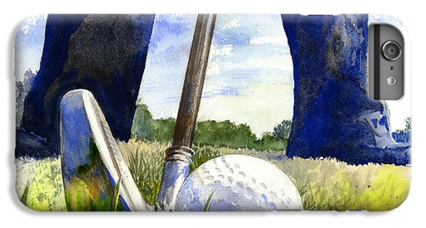 Golf iPhone 7 Plus Case - Anticipation by Andrew King