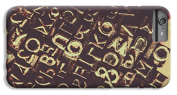 Warfare iPhone 7 Plus Case - Antique Enigma Code by Jorgo Photography - Wall Art Gallery