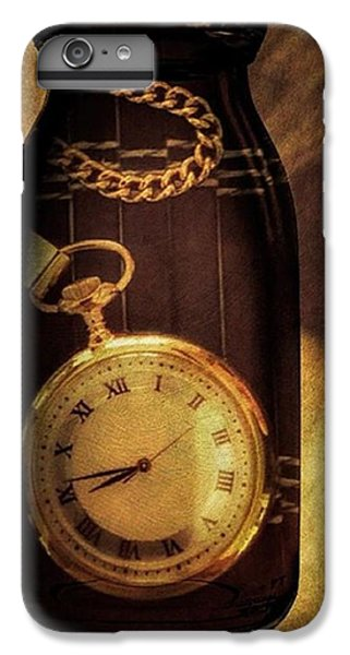 Antique Pocket Watch In A Bottle IPhone 7 Plus Case by Susan Candelario