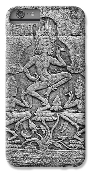 IPhone 7 Plus Case featuring the photograph Apsaras 3, Angkor, 2014 by Hitendra SINKAR