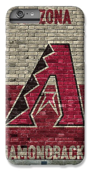 Arizona Diamondbacks Brick Wall IPhone 7 Plus Case by Joe Hamilton