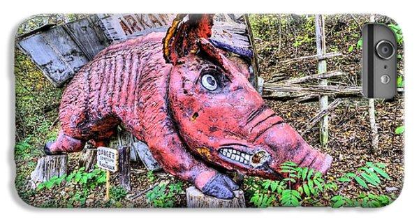 Arkansas Razorbacks IPhone 7 Plus Case by JC Findley