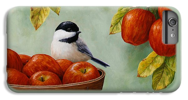Apple Chickadee Greeting Card 1 IPhone 7 Plus Case