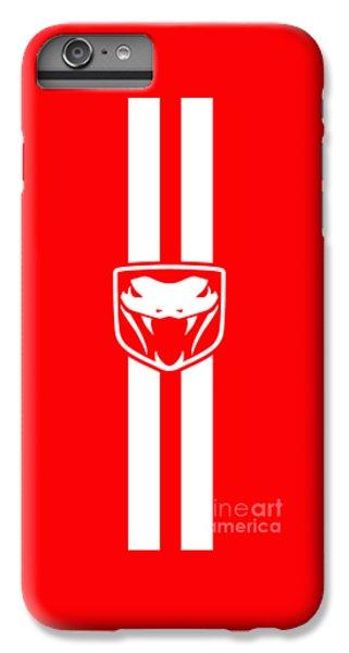 Viper iPhone 7 Plus Case - Dodge Viper Red Phone Case by Mark Rogan