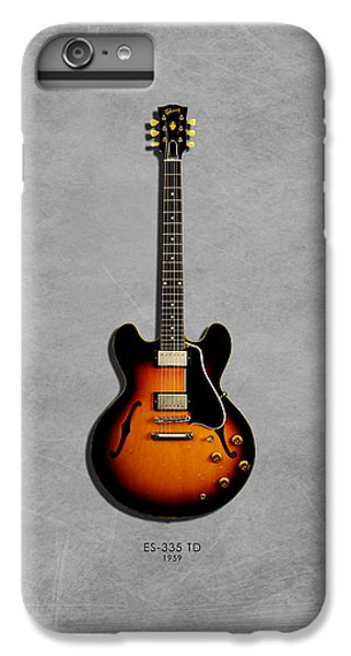Gibson Es 335 1959 IPhone 7 Plus Case by Mark Rogan