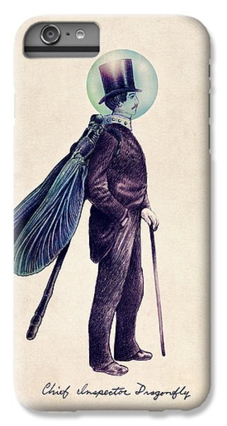 Animals iPhone 7 Plus Case - Inspector Dragonfly by Eric Fan