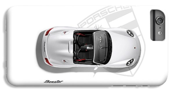 Car iPhone 7 Plus Case - Porsche Boxster by Mark Rogan