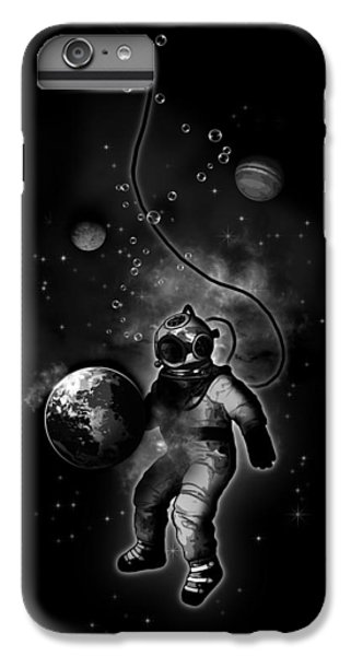 Planets iPhone 7 Plus Case - Deep Sea Space Diver by Nicklas Gustafsson