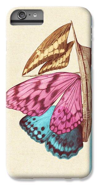 Ship iPhone 7 Plus Case - Butterfly Ship by Eric Fan
