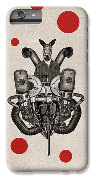 Kangaroo iPhone 7 Plus Case - Animal2 by Francois Brumas