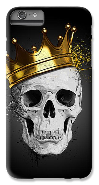 England iPhone 7 Plus Case - Royal Skull by Nicklas Gustafsson