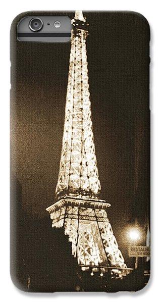 Postcard From Paris- Art By Linda Woods IPhone 7 Plus Case by Linda Woods