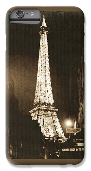 Postcard From Paris- Art By Linda Woods IPhone 7 Plus Case