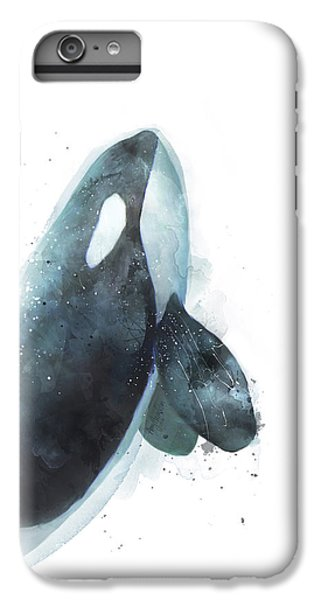 Whale iPhone 7 Plus Case - Orca by Amy Hamilton