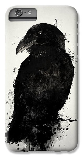 Crow iPhone 7 Plus Case - The Raven by Nicklas Gustafsson