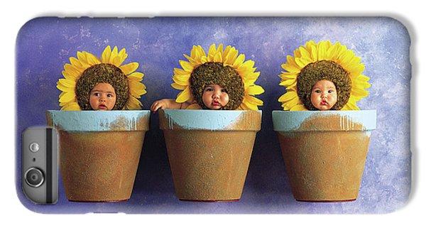 Sunflower iPhone 7 Plus Case - Sunflower Pots by Anne Geddes