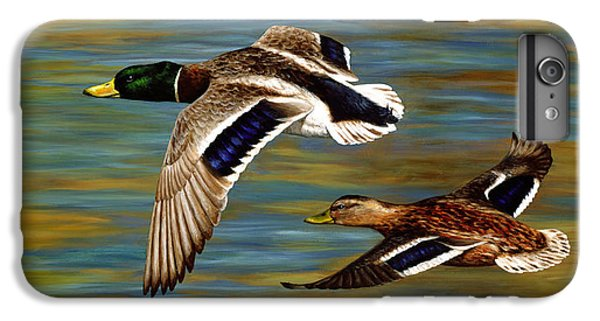 Duck iPhone 7 Plus Case - Golden Pond by Crista Forest