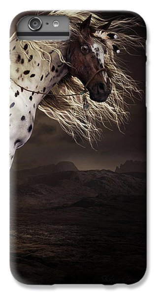 Horse iPhone 7 Plus Case - Leopard Appalossa by Shanina Conway