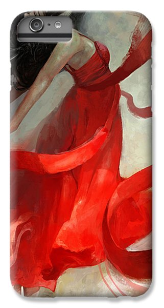 Red iPhone 7 Plus Case - Ascension by Steve Goad