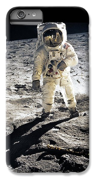 The Moon iPhone 7 Plus Case - Astronaut by Photo Researchers